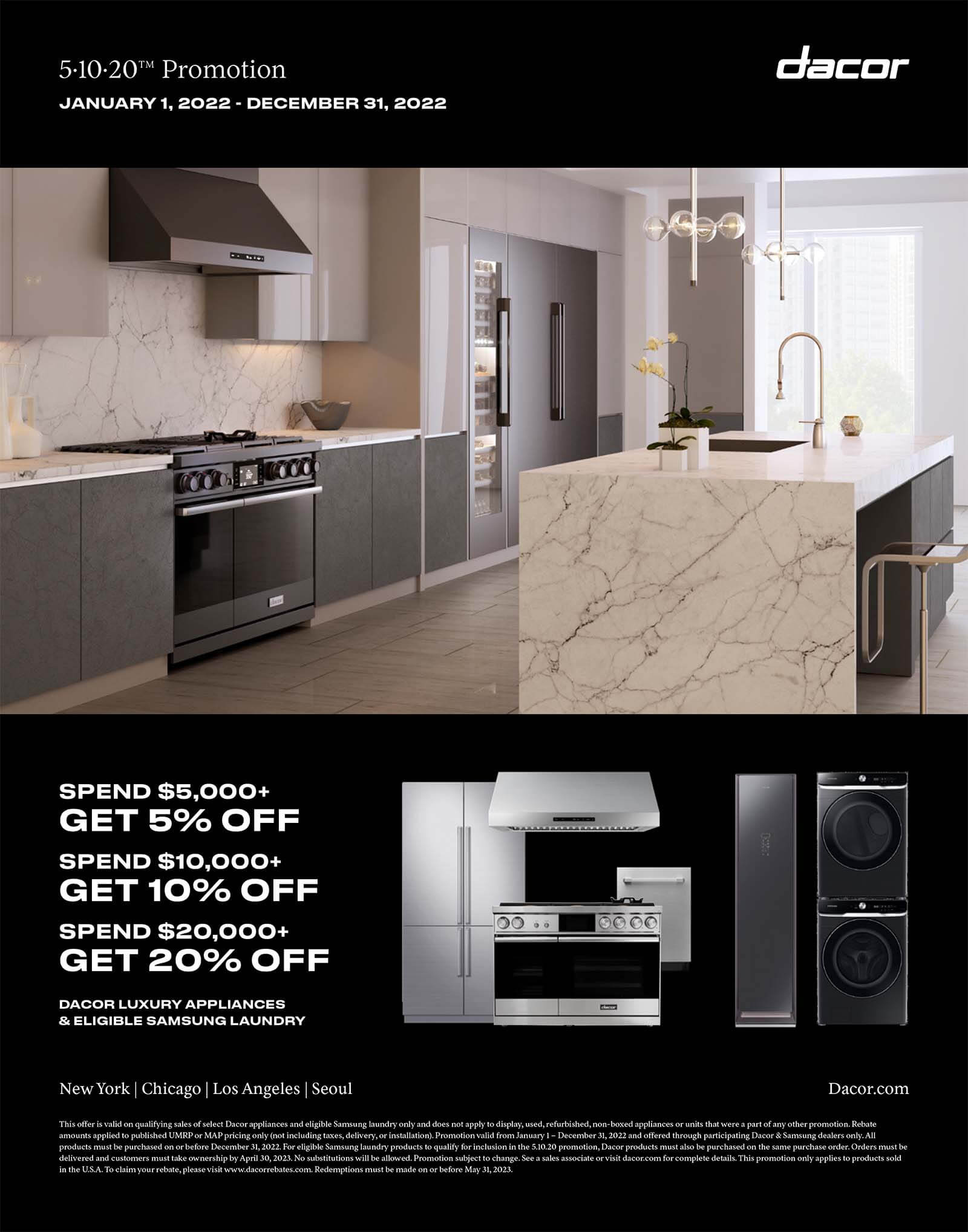 Dacor Cooking All Electric Ranges